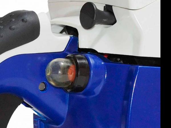 Подкачка топлива бензопилы Hyundai X360
