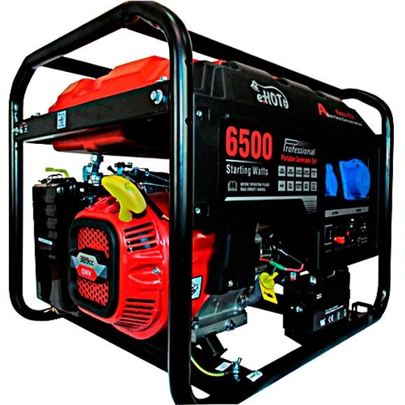 Бензиновый генератор Е.НОТ LC6500D-AS