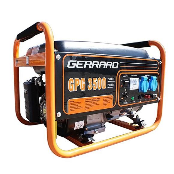 Бензиновый генератор Gerrard GPG3500