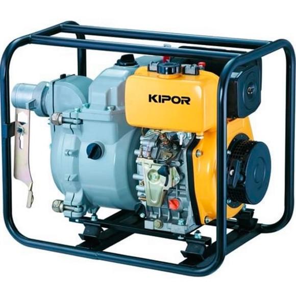 Мотопомпа для грязной воды KIPOR KDP30T