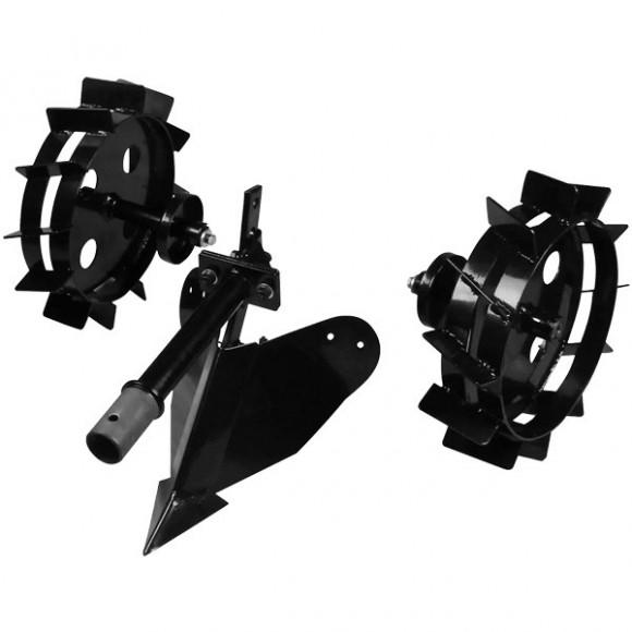 Навесное плуг и металлические колеса Konner&Sohnen KS 7HP-MFM-PMW