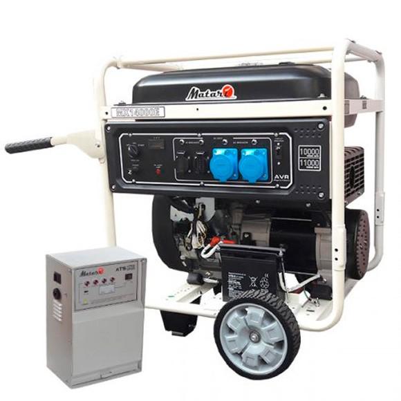 Бензиновый генератор MATARI MX14000E-ATS