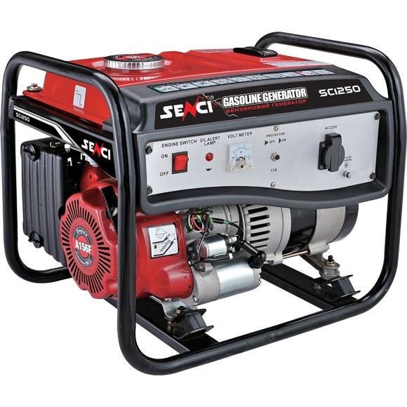 Бензиновый генератор SENCI SC1250-M