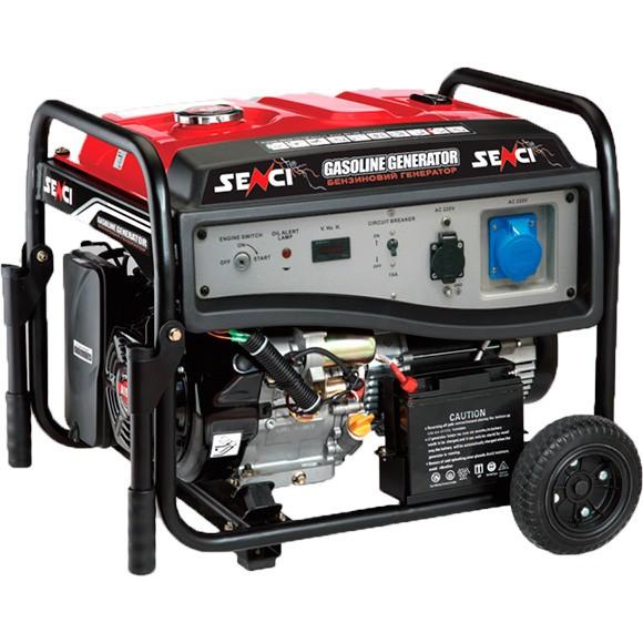 Бензиновый генератор SENCI SC8000-ЕI