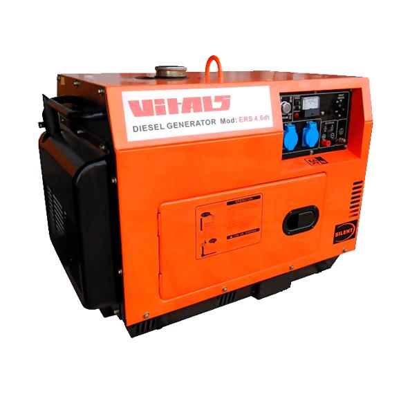 Дизельный генератор Vitals ERS 4.6dt