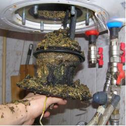 Неисправности газовой колонки (связанные с подачей горячей воды)