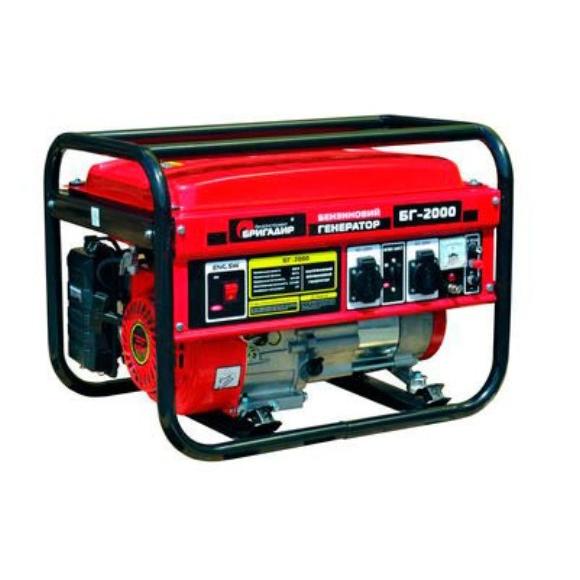 Бензиновый генератор Бригадир БГ 6000 (электростарт)