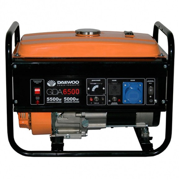 Бензиновый генератор Daewoo GDA 6500