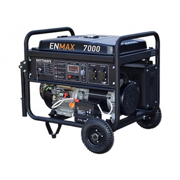 Бензиновый генератор Enmax HHY7000FE