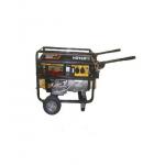 Бензиновый генератор Huter DY 6500 LX с колесами и аккумулятором