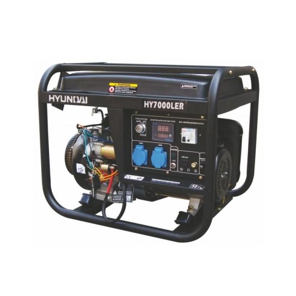Бензиновый генератор 380