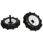 Комплект колес резиновых пневматических Hyundai W 1050 + полуоси S1150-4