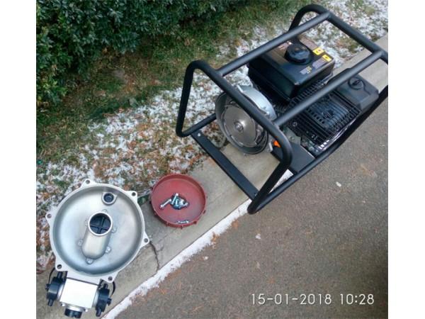 Рама и агрегаты мотопомпы HYUNDAI HYH52-80