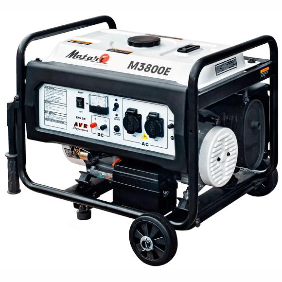 Бензиновый Генератор MATARI M 3800E