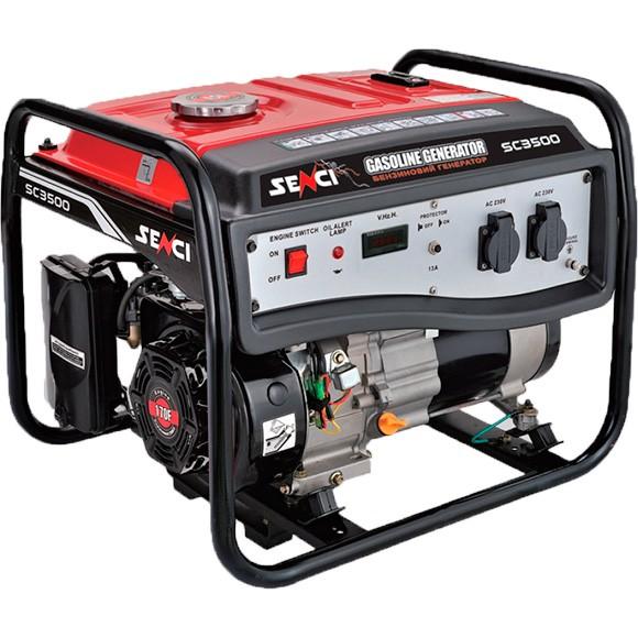 Бензиновый генератор SENCI SC3250-Е
